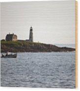 Wood Island Lighthouse 3 Wood Print