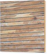 Wood Lines Wood Print