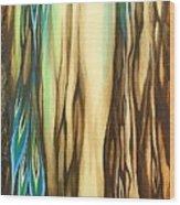 Wood On The Inside Wood Print