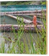 Wood River 07 Wood Print