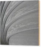 Wood Swirl Wood Print