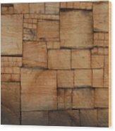 Woodblocks Wood Print