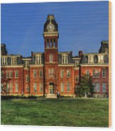 Woodburn Hall In Morning Wood Print
