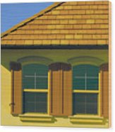 Woodbury Windows No 2 Wood Print