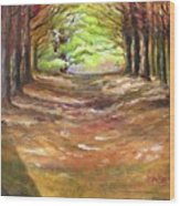 Wooded Sanctuary Wood Print