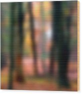 Wooded Wonderland Wood Print
