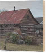 Wooden Barn Wood Print