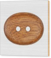 Wooden Button Wood Print