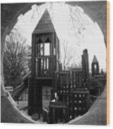 Wooden Castle Wood Print
