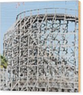 Wooden Coaster Wood Print