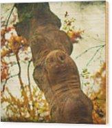 Wooden Creatures Wood Print