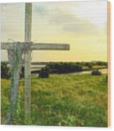 Wooden Cross 1 Wood Print