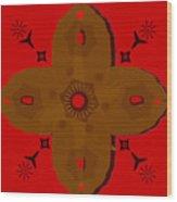 Wooden Cross Wood Print