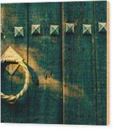 Wooden Door Wood Print