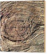 Wooden Eye 1 Wood Print