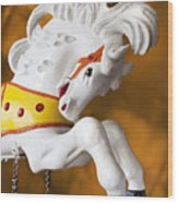 Wooden Horse 1 Wood Print