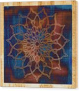 Wooden Mandala Wood Print by Hakon Soreide