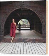 Wooden Monastery Wood Print