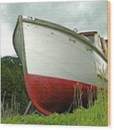 Wooden Ship Wood Print