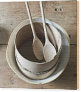 Wooden Spoons Wood Print