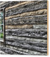 Wooden Wall  Wood Print