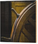 Wooden Wheel Wood Print