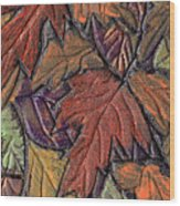 Woodland Carpet Wood Print