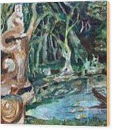 Woodland Critters Wood Print