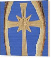 Woodland Cross Wood Print