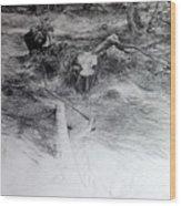 Woodland Wood Print
