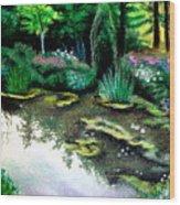 Woodland Mystery Wood Print