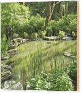 Woodland Nymphs Wood Print