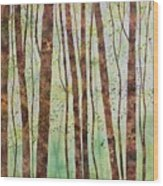 Woodland Spring Wood Print