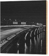 Woodrow Wilson Bridge Wood Print