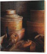 Woodworker - Shaker Box Shop  Wood Print