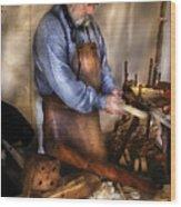 Woodworker - The Carpenter Wood Print