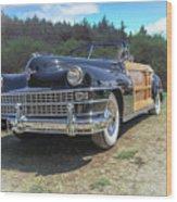 Woody  Chrysler Wood Print