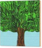 Woody Wood Print