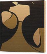 Woof Wood Print