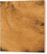 Wool Orange Wood Print