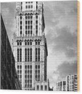 Woolworth Building Wood Print