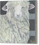 Wooly One Wood Print