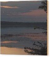 Worden's Pond Sunrise 2 Wood Print