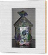 Wordhouse Wood Print