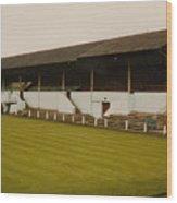 Workington - Borough Park - Main Stand 2 - 1970s Wood Print