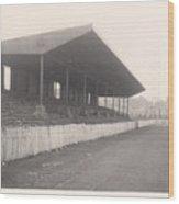 Workington - Borough Park - Popular Side 1 - 1960s Wood Print