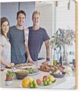 Workplace Nutrition Programs Sydney Wood Print