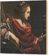 Workshop Of Simon Vouet Wood Print