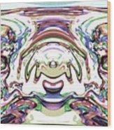 World At Peace Wood Print