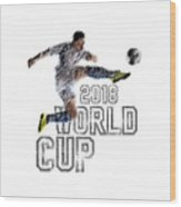 World Cup 2018 Wood Print